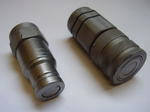 "Flat Face Male & Female 3/8"" Coupling 45/910700 45/910600"